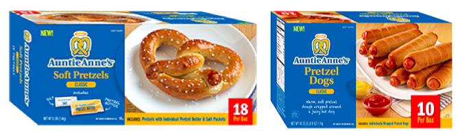 Auntie Anne's Pretzel coupons