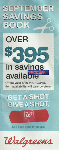 Walgreens September Book + Match Ups