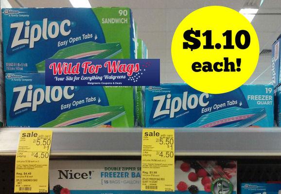 Ziploc  bags deal