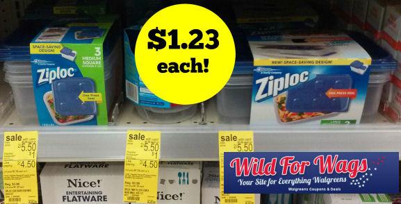 Ziploc containers deal