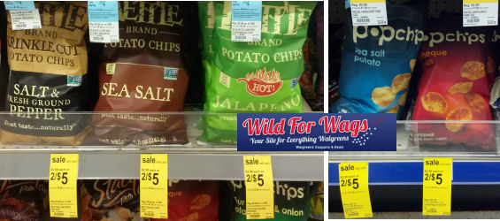 kettle chips & pop chips
