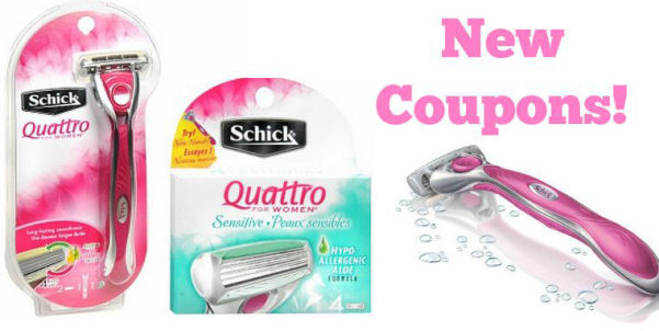 Coupons for female razors