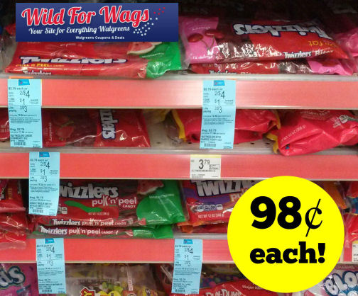Surprise Points for Twizzlers - Just 98¢ Each!