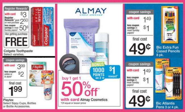 Walgreens Weekly Ad & Coupons - 8/16/15