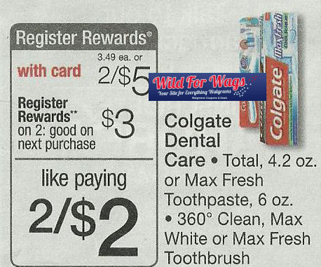 Print Now for Free Colgate Next Week!