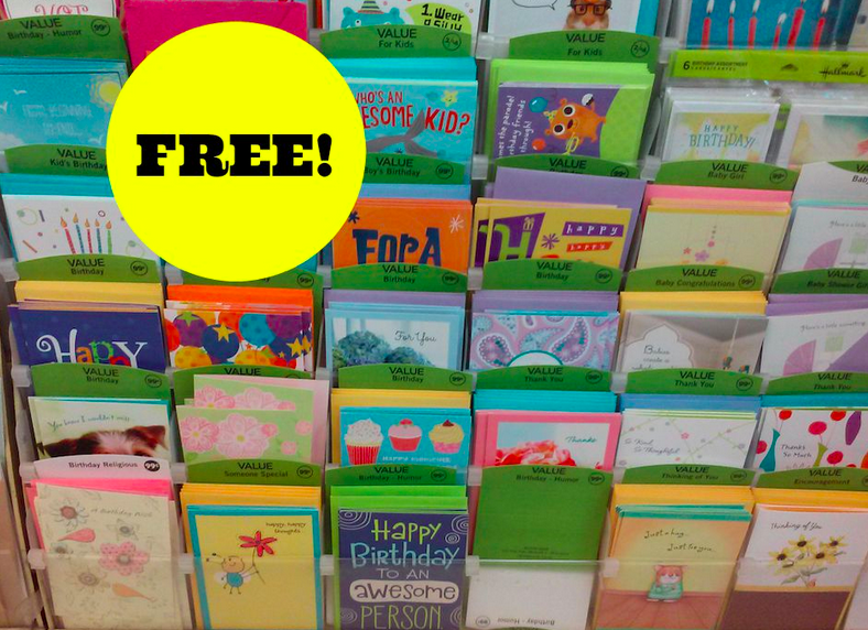free hallmark cards at walgreens, Birthday card