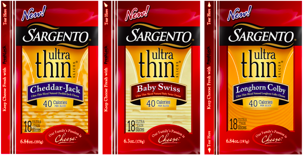 Sargento Ultra thin coupons