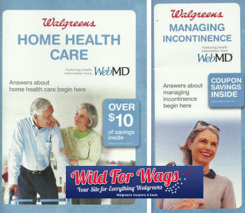 Walgreens Home Health Care & Incontinence Booklet