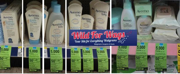 Save Up To 52% on Aveeno!