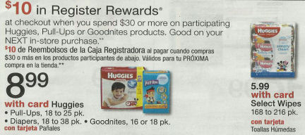 Huggies Diapers & Wipes - $3.07 Each Next Week!