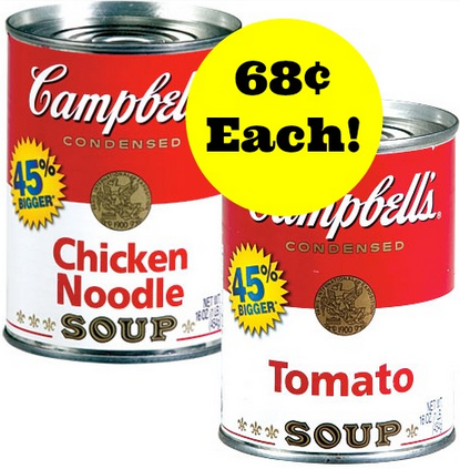 Cambpell's Condensed Soup coupons