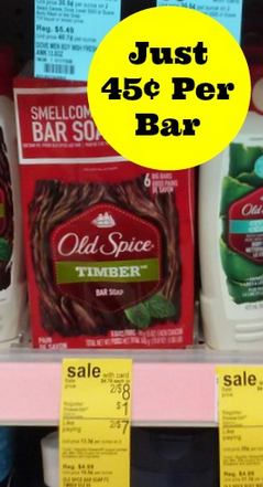 Old Spice Bar Soap Coupons