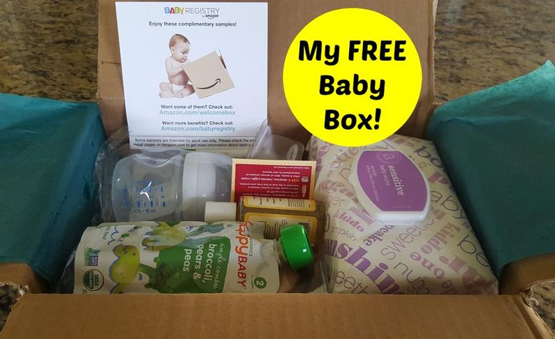 Free Amazon Baby Registry Baby Box