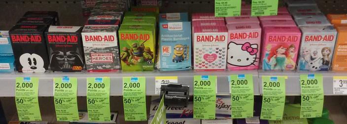 Band-Aid Coupons