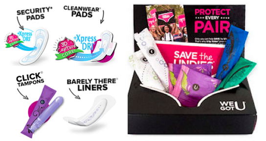Free UbyKotex Samples