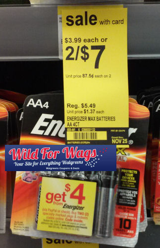 Possible Energizer Stack - 47¢ or less!