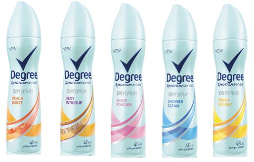 Degree Women Dry Spray coupon