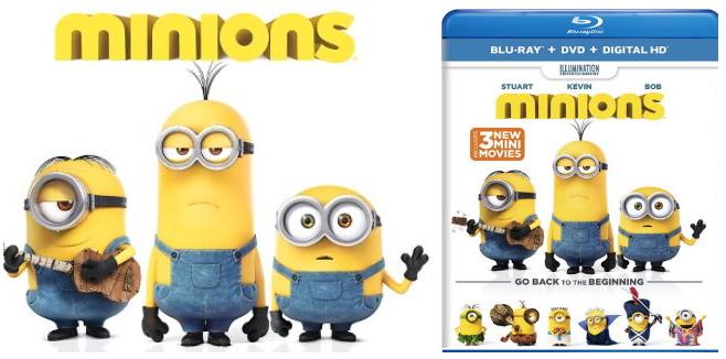 Free Minions Blu-ray