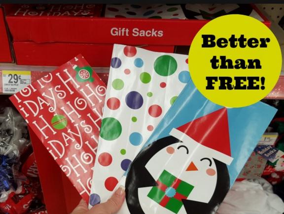 Better than Free Holiday Gift Sack at Walgreens