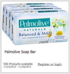 Free Palmolive Soap