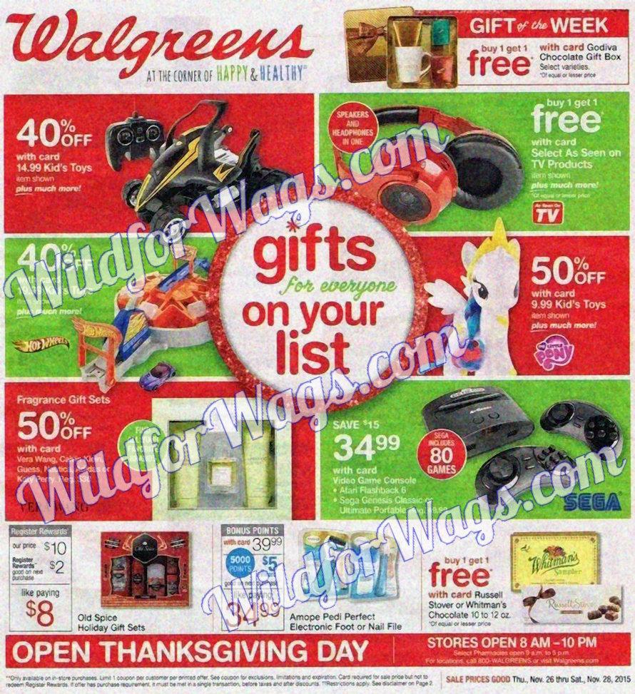 Walgreens Ad Scan 11-26 pg1y