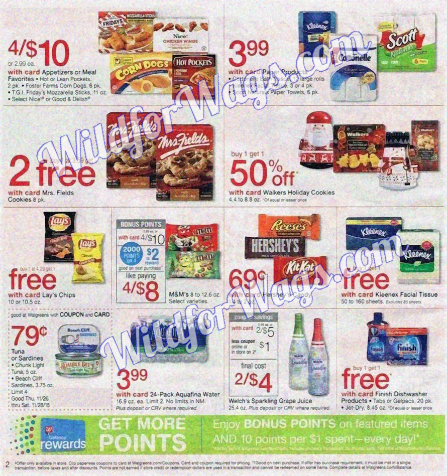 Walgreens Ad Scan 11-26 pg2p