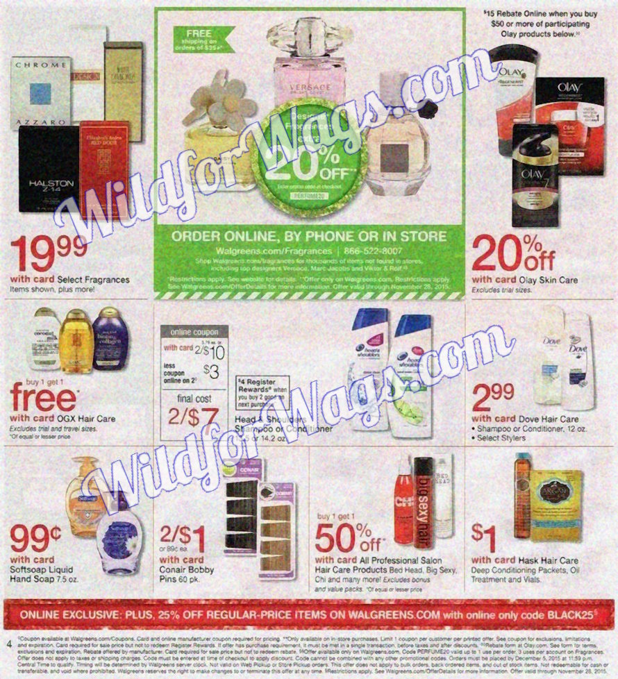 Walgreens Ad Scan 11-26 pg4u