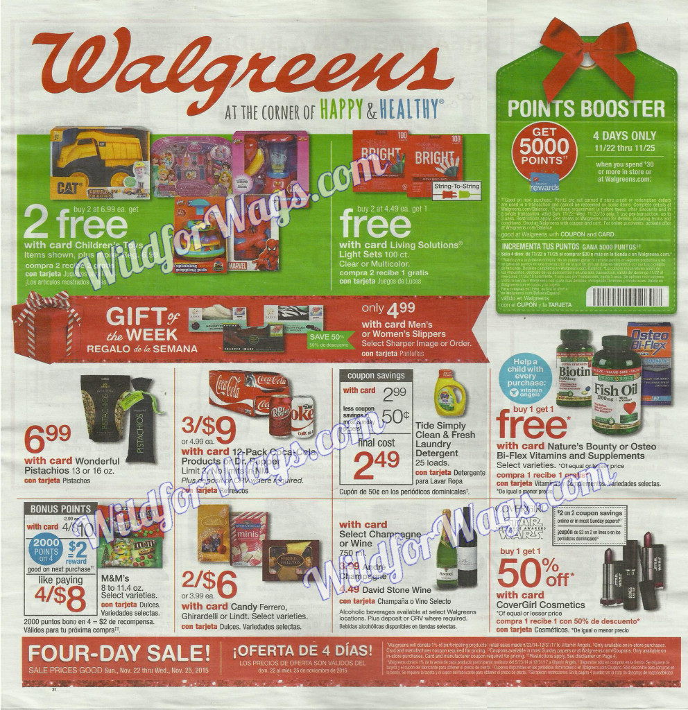 Walgreens Ad Scan Black Friday Part 1 11-22-15 pg 1z
