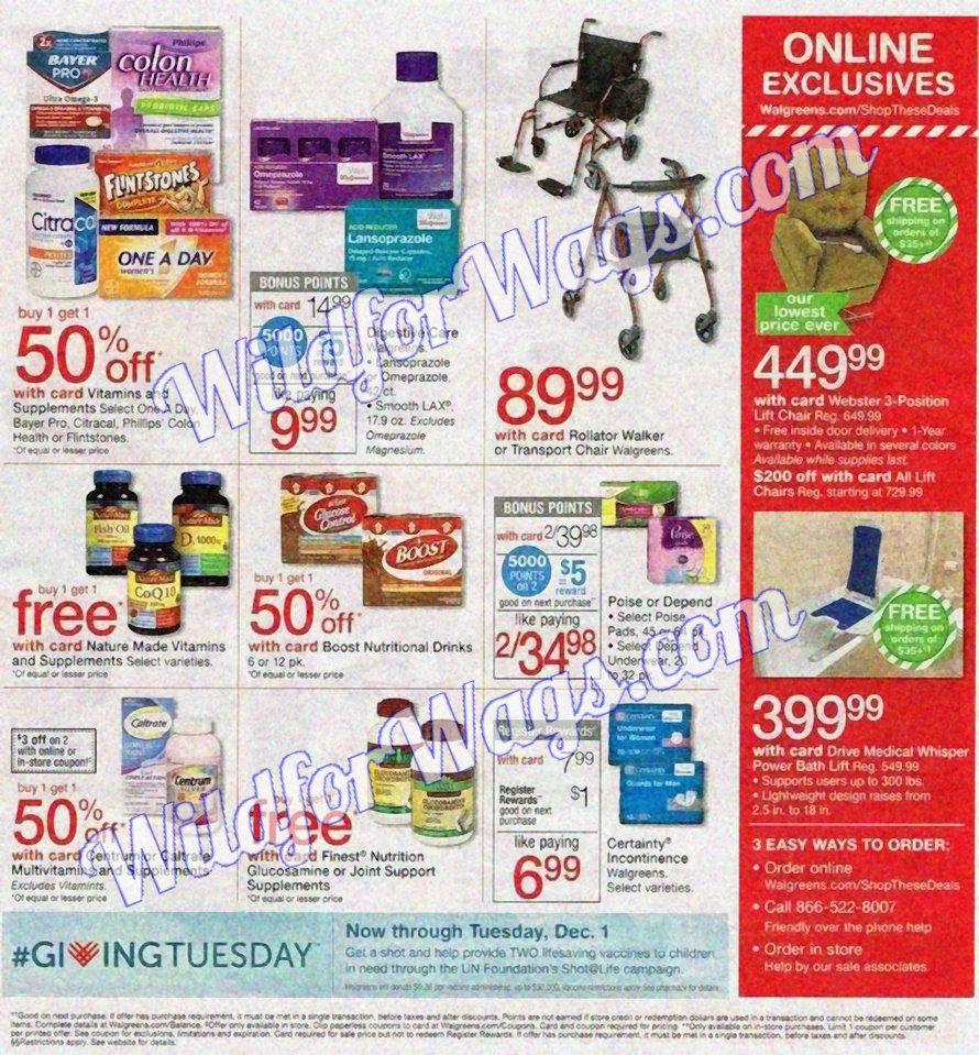 Walgreens Black Friday Ad Scan pg11x