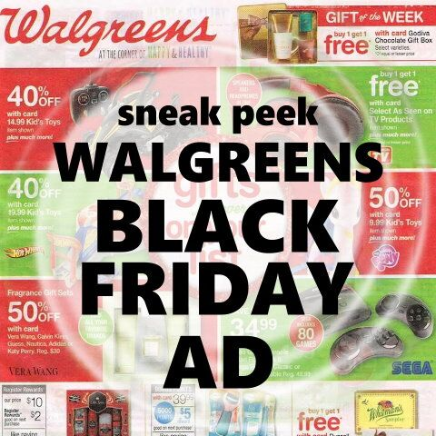 Walgreens Black Friday Sneak Peek FB