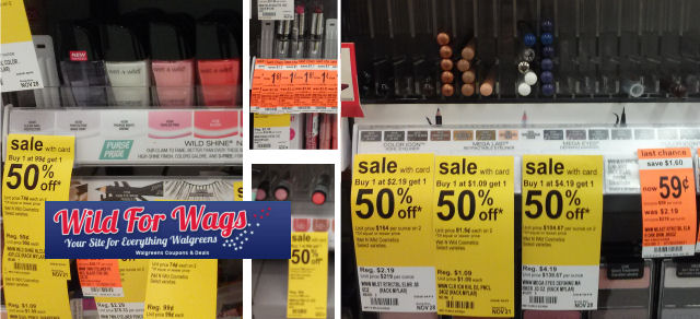 Wet 'N Wild Products As Low as 12¢ + Clearance for 9¢!