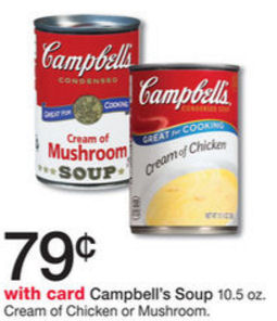 campbell's cream soups