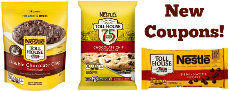 New Nestle Tollhouse Coupons = $1.78 Morsels Next Week!