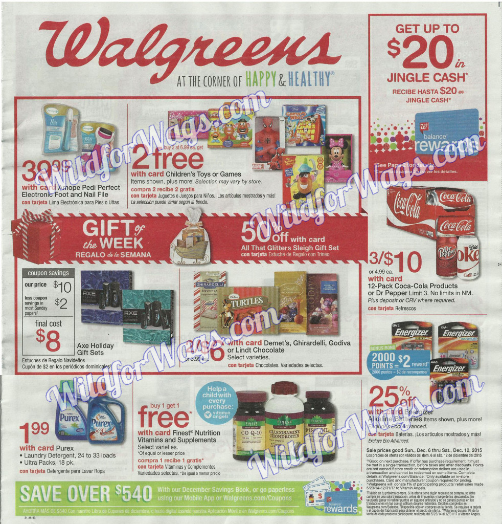 Walgreens Ad Scan 12-6-15 pg1t