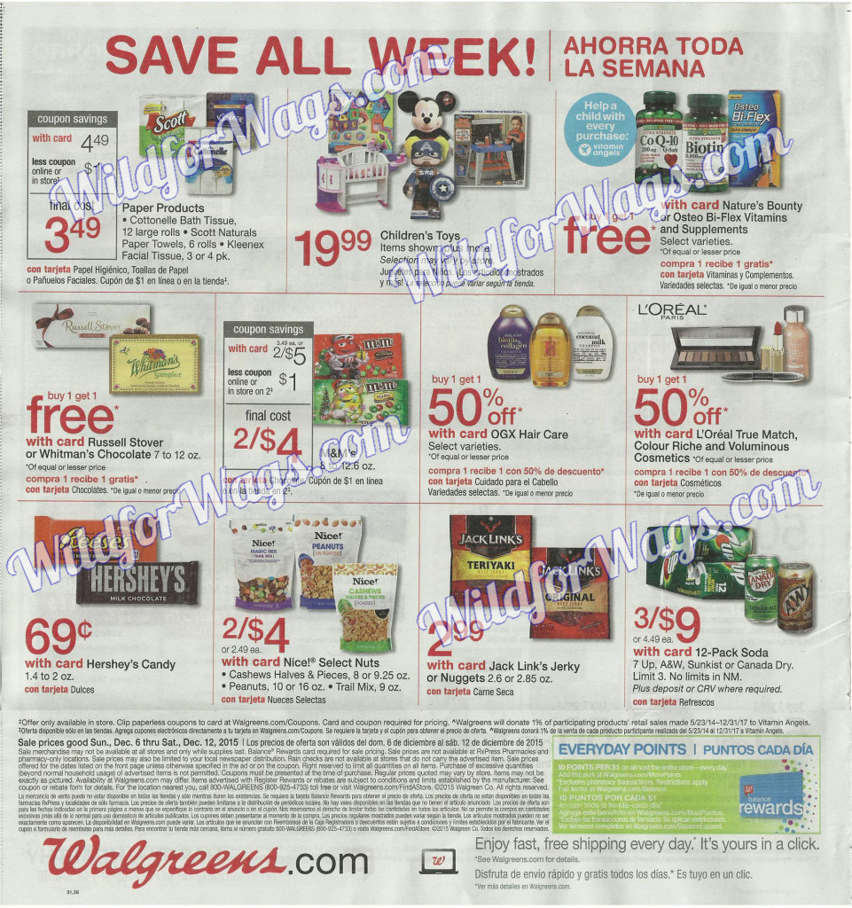 Walgreens Ad Scan 12-6-15 pg36q