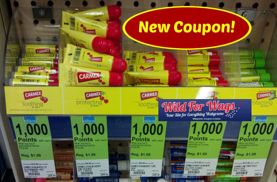 New Carmex Lip Balm Coupon + Points Deal!