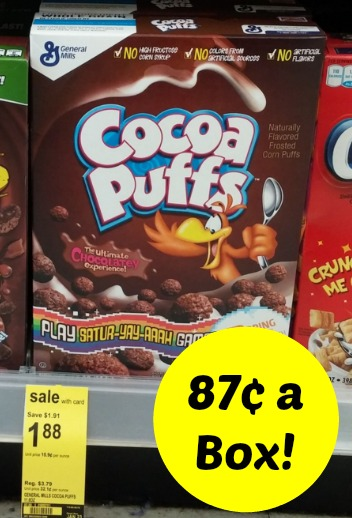 Cocoa Puffs coupons