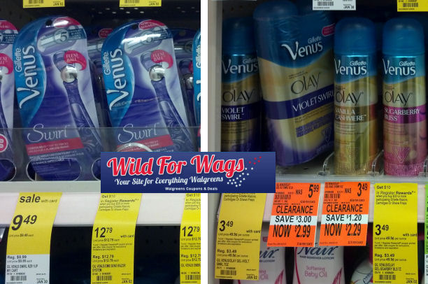 Gillette Venus Clearance & RR Deal = $1.10 Per Item!