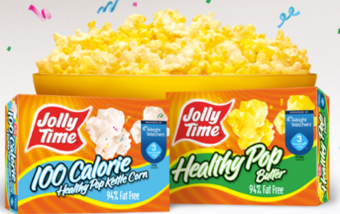 Jollytime coupons