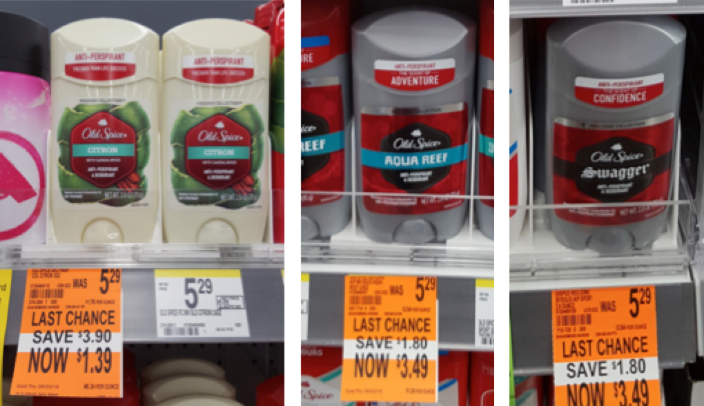 Old Spice Clearance
