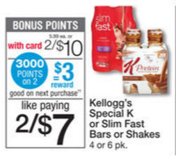 Speciak K Protein Shakes Just 61¢ Per Serving!