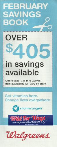 Walgreens February Book