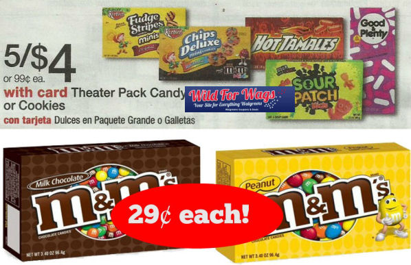 M&M's Theater Packs 29¢ Each Next Week