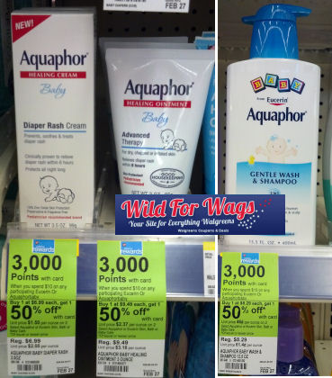 Aquaphor Baby Starting at $1.69 Each!