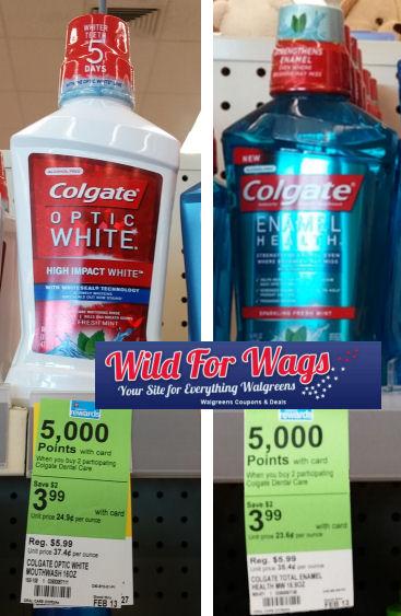 Money Making Colgate Mouthwashes!