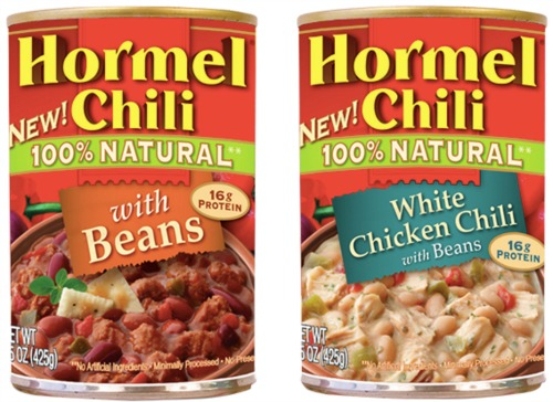 Hormel Natural Chili coupons