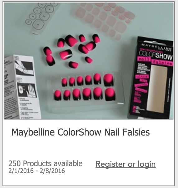 Maybelline Freebies