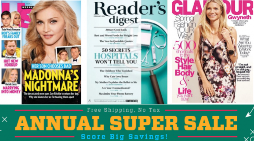 【TODAY ONLY】 DiscountMags.