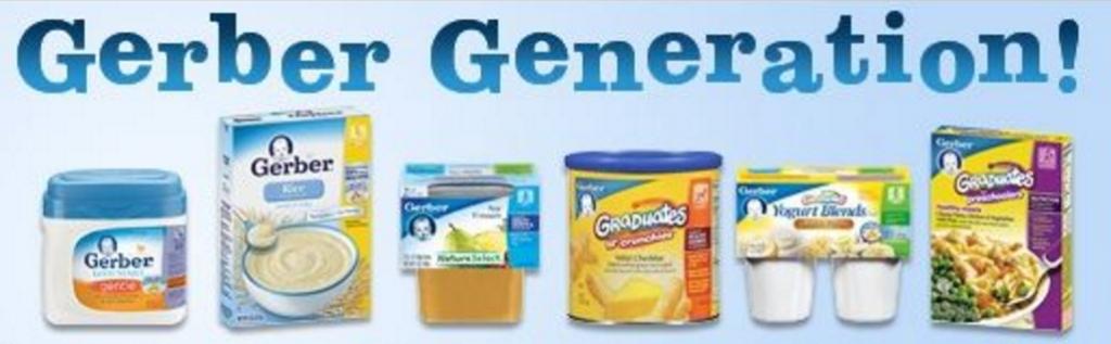 Gerber foods coupons