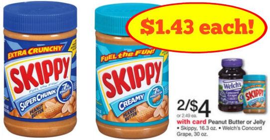 Skippy deals